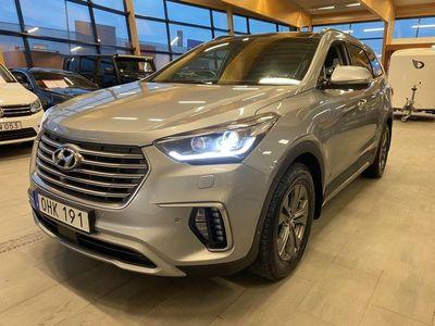 begagnad Hyundai Grand Santa Fe 2.2 CRDi 4WD Dieselvärm, 7-sits 200hk