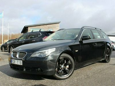 begagnad BMW 535 D Svensksåld Komfortstolar Drag 272hk