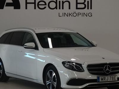begagnad Mercedes E200 FLEET Parkeringsvärmare Dragkrok Wide-Screen DEMO