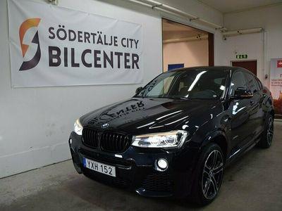 begagnad BMW X4 xDrive30d M Sport Taklucka Euro 6 258hk Svensksåld
