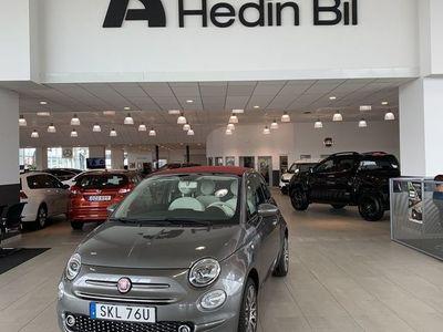 "begagnad Fiat 500C 1,2 Lounge CarPlay 16"" DEMO"