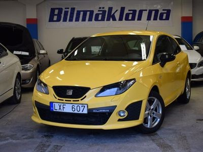 begagnad Seat Ibiza Cupra 1.4 TSI DSG VÄRMARE 180hk