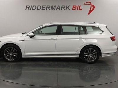 begagnad VW Passat Sportscombi 2.0 TDI 190hk 4M R-Line D-Värm