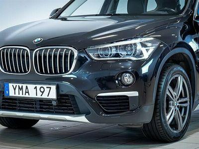 begagnad BMW X1 sDrive 18d M-Sport Läder Drag