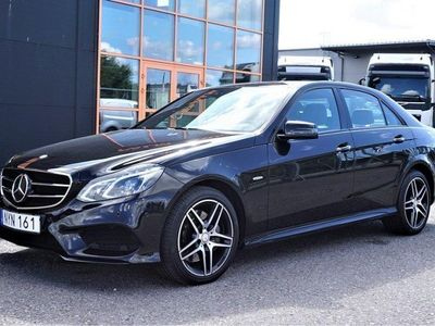 begagnad Mercedes E350 BlueTEC 4MATIC 7G-Tronic Plus AMG Sport Euro 6 258hk Sv-Såld