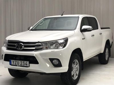 begagnad Toyota HiLux 2.4 D 4WD 2017, Transportbil 260 000 kr