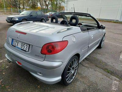 begagnad Peugeot 206 CC 1.6