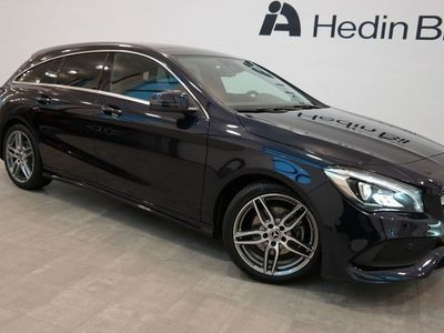 begagnad Mercedes CLA200 Shooting Brake // AMG Sky // Apple CarPlay™ // Backkamera //