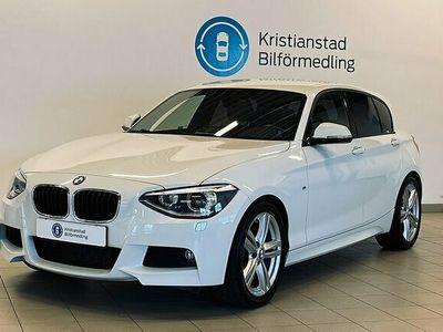 begagnad BMW 116 i M-Sport 136hk Alpinvit