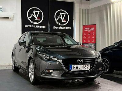 begagnad Mazda 3 Sport SKYACTIV-D Automat 150hk 1ÄG GPS kamera lågmil