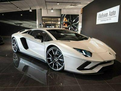 begagnad Lamborghini Aventador S LP740-4 2018, Personbil Pris 2 895 000 kr