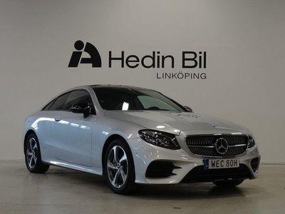 begagnad Mercedes E300 COUPÉ AMG Parkeringsvärma