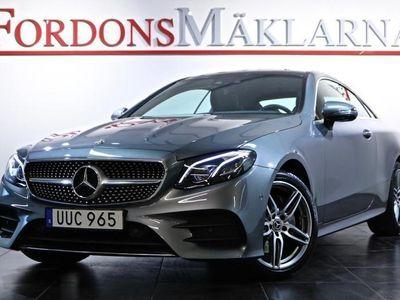 begagnad Mercedes E200 4MATIC COUPÉ GPS 807MIL AMG MELLANDAGSREA
