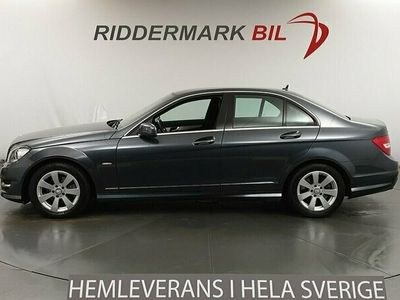 begagnad Mercedes C220 CDI AMG Avantgarde Nyservad Drag 170hk