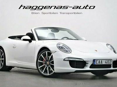 begagnad Porsche 911 Carrera Cabriolet 991 911 S Cab Sport Chrono BOSE 2012, Pris 879 000 kr