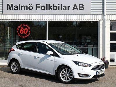 begagnad Ford Focus 1.0 EcoBoost Euro 6 125hk Titanium