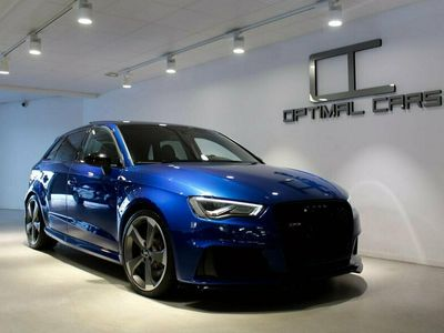 begagnad Audi RS3 Sportback S-B 2.5TFSi Q Fullutr Stertman 440HK