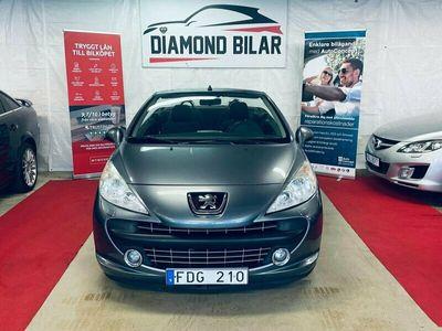 begagnad Peugeot 207 CC 1.6 VTi / Lågmil / Nybes / kamkedja (120hk)