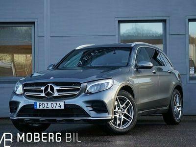 begagnad Mercedes 220 GLC Benzd 4M AMG Navi Burmester 2017, SUV Pris 344 900 kr