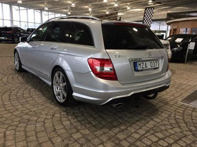 begagnad Mercedes C220 CDI Aut AMG-pkt & Panora -13