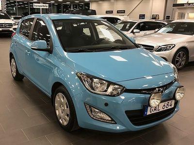 begagnad Hyundai i20 5-dörrar 1.2 86hk