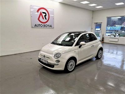begagnad Fiat 500 1.2 Lounge/NyBes/NyServ/Lågmil/Pano/