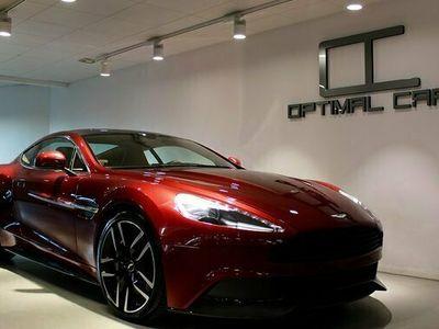 begagnad Aston Martin Vanquish V12 Diavolo-Red Svsåld Carbon 2015, Sportkupé Pris 1 589 000 kr
