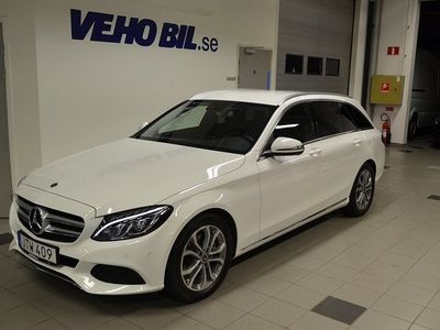 begagnad Mercedes 220 Benz C T d Automat Avantgarde Apple Car Play Parkeringsvärmare Drag 2018, Personbil 309 900 kr