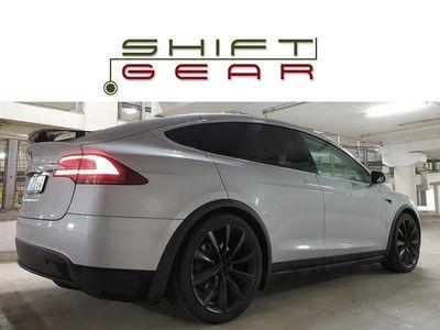 begagnad Tesla Model X 100D 6-sits CCS Leasebar SE UTR 2018, Sedan 995 000 kr