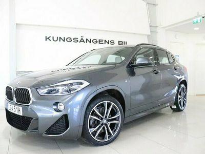 begagnad BMW X2 xDrive20d M-Sport Navi HUD V-hjul Keyless 190hk