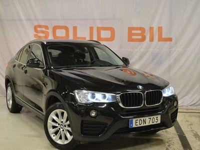 begagnad BMW X4 xDrive20d xDrive20d/Navi/Drag/D-värmare/Eu6/190hk