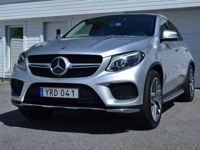 begagnad Mercedes 350 GLE Couped 4-Matic / AMG / Värmare