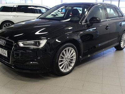 gebraucht Audi A3 TDI Sport Quattro S-Line 2016, Halvkombi 229 000 kr