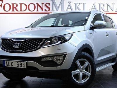 begagnad Kia Sportage 2.0 CRDI AWD SKINN DRAG 3-ÅRS 2013, SUV 104 900 kr