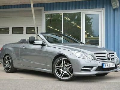 begagnad Mercedes E350 E BenzCDI V6 Cabriolet AMG #SE UTR 2012, Cab Pris 289 000 kr