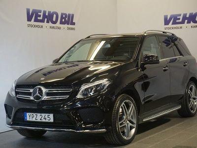 brugt Mercedes GLE350 4MATIC AMG Värmare Panorama 360-Kamera Drag Apple Carplay