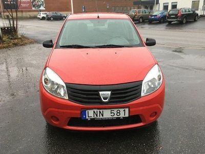 begagnad Dacia Sandero 1.6 E85 (87hk) NYBesiktigad,Ny