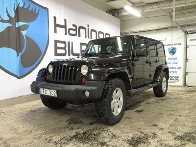 begagnad Jeep Wrangler Unlimited 3.8 V6 SAHARA 4WD Automat