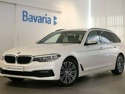 begagnad BMW 520 d xDrive Touring Sport line Drag HiFi Nypris 570 200:-