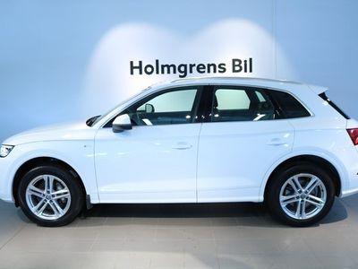 begagnad Audi Q5 2,0 TDI 190 S-Tronic S-line, Drag, Värmare