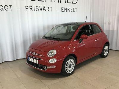 begagnad Fiat 500 LOUNGE 1.2 69HK / Farthållare / Glastak