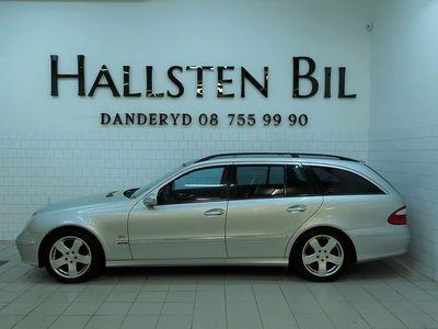 begagnad Mercedes E240 Kombi Aut   Skinn   Navi   Nyservad