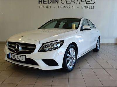 begagnad Mercedes C220 d Avantgarde, Dragkrok, Keyless, Backkamera