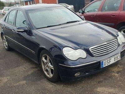 begagnad Mercedes C240 Nyservad obesiktigad OBJE