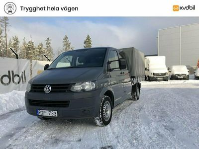 begagnad VW Transporter T5 VW2.0 TDI Pickup 4MOTION 2012, Transportbil Pris 110 000 kr
