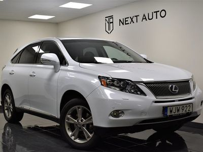 begagnad Lexus RX450h 299HK AUT AWD LUXURY GPS SKINN