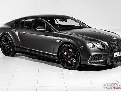 begagnad Bentley Continental GT W12 Speed Black Edition