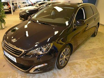 begagnad Peugeot 308 SW Allure HDI 150hk Aut Nav Keyless Drag Låg Skatt