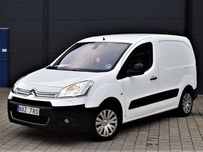 brugt Citroën Berlingo Van 1.6 HDi ETG6 92hk Svensksåld