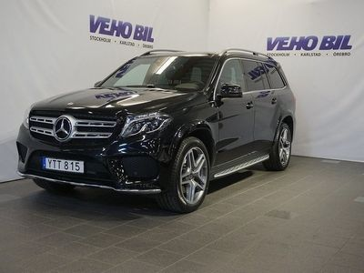 begagnad Mercedes GLS350 4-Matic 9G-Tronic Designo, AMG Exclusive her Euro 6 7-